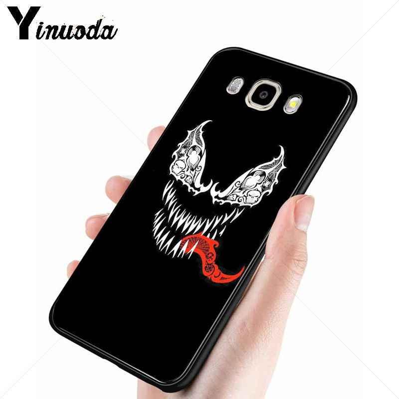 Yinuoda Venom Antivenom ภาพยนตร์โทรศัพท์กรณีฝาครอบสำหรับ Samsung Galaxy j2prime j4plus j6plus j7 prime j8 2018 ฝาครอบ