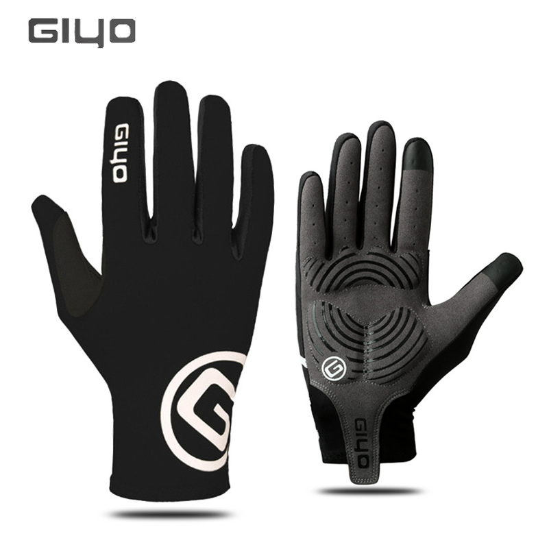 GIYO Cycling Gloves Touch Screen Outdoor Sport Anti-slip Bike Glove for Man Woman MTB Road Bike Full Finger Phone Cycling Gloves esdy hyxl 1 anti slip outdoor cycling climbing full finger pu tactical gloves black xl pair