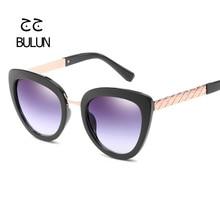 D-BULUN 2017 Nueva Mujer Del Ojo de Gato gafas de Sol Retro de Lujo Originales Diseñador de la marca de La Vendimia Gafas de Sol de Las Mujeres gafas de sol mujer UV400