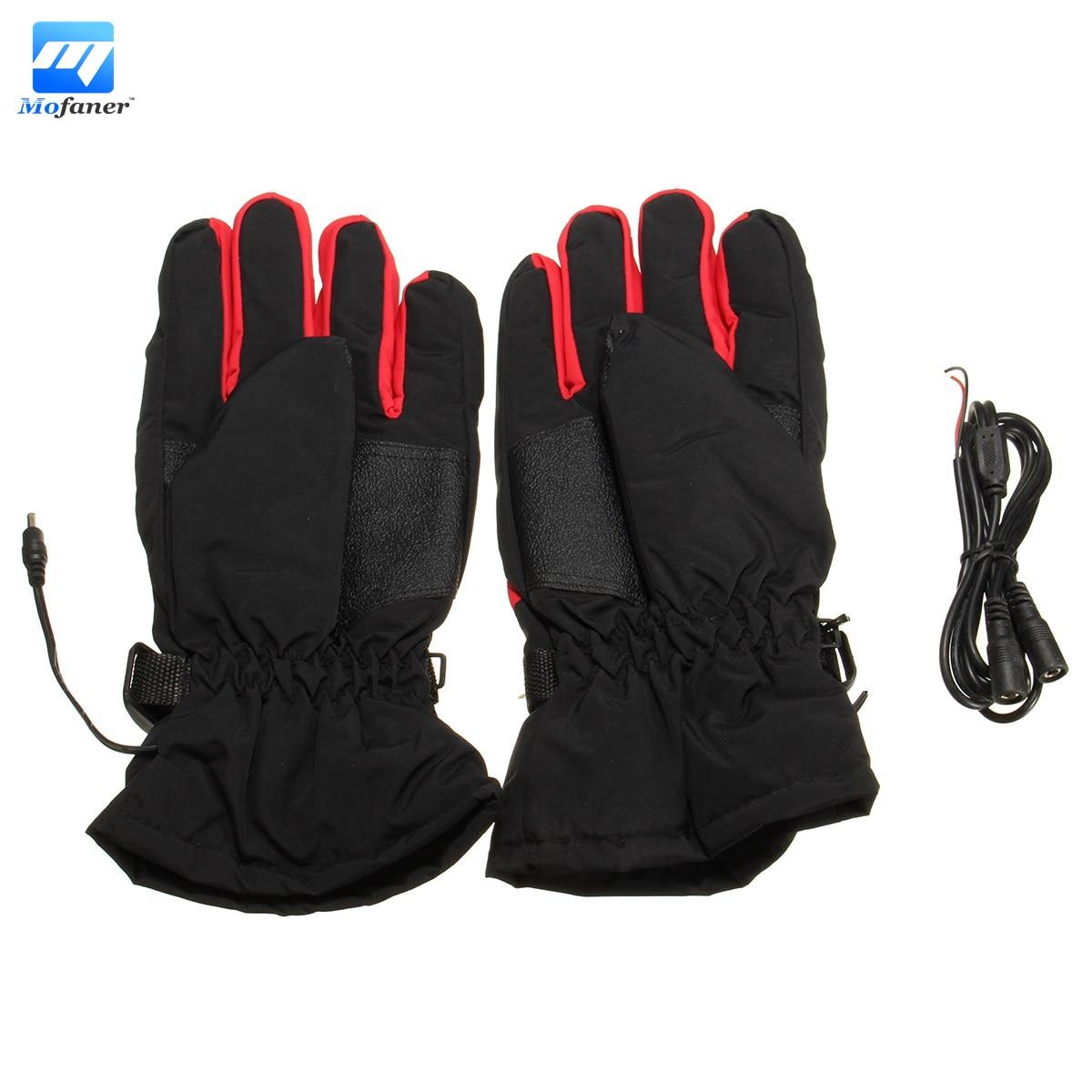 New 2pcs 12v motorcycle motorbike warm heated heat inner outdoor gloves glove china mainland