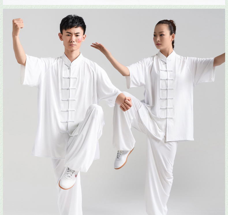 Very Strong Milk Tai Chi Woman Sleeve Summer Male Practice Serve In National Customs Taiji Boxing A Martial Art Serve