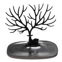Stylish Portable Retro Bird Tree Jewelry Display Bracelet Necklace Ring Chain Dangle Earring Stand Holder Show Rack 2020 Display
