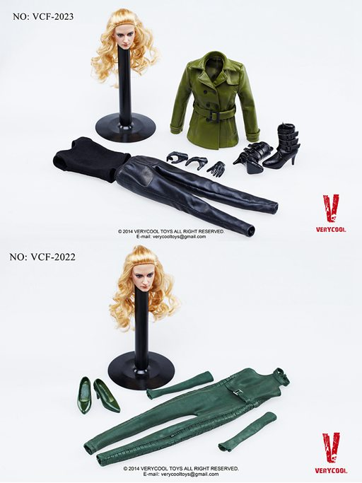 1/6 scale figure doll Female Viper's clothes with head for 12 Action figure doll accessories figure clothes not include body
