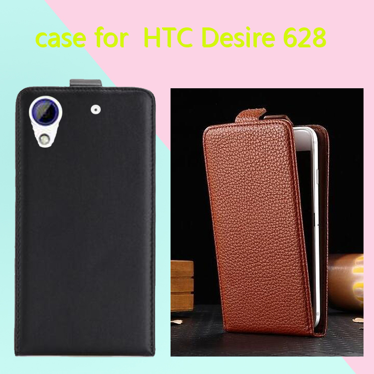 New High Quality phone case for HTC Desire 628 dual SIM Cases Cover Fundas Mobile Phone Bag Flip Up and Down Case