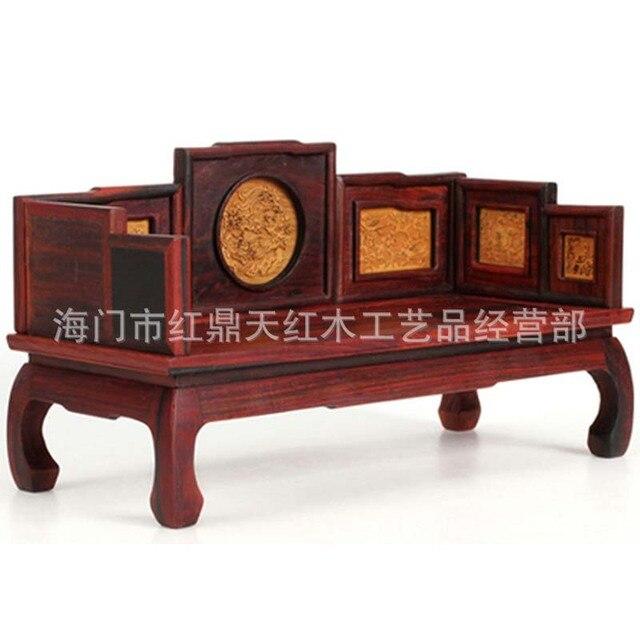Rojo caoba muebles en miniatura modelo de muebles en miniatura ...