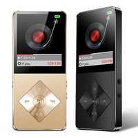 BON CREATION Brand New HiFi MP4 Music Player 16GB Metal Housing Built-in Speaker MP4 Support SD Card FM Radio Video Recorder