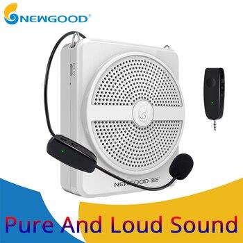 Проводной мини динамик, портативный голосовой усилитель, микрофон с натуральным звуком, Громкая колонка, TF карта, MP3 для учителя, гида, Речев