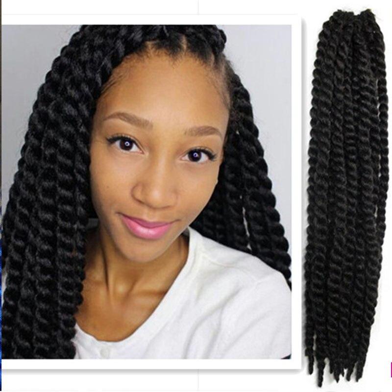 soft kinky twist braiding hair