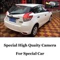 Cámara del coche Para TOYOTA Vios Yaris L XP150 2013 2014 2015 Alta calidad de Visión Trasera Cámara de Copia de seguridad   CCD + RCA + Noche vista