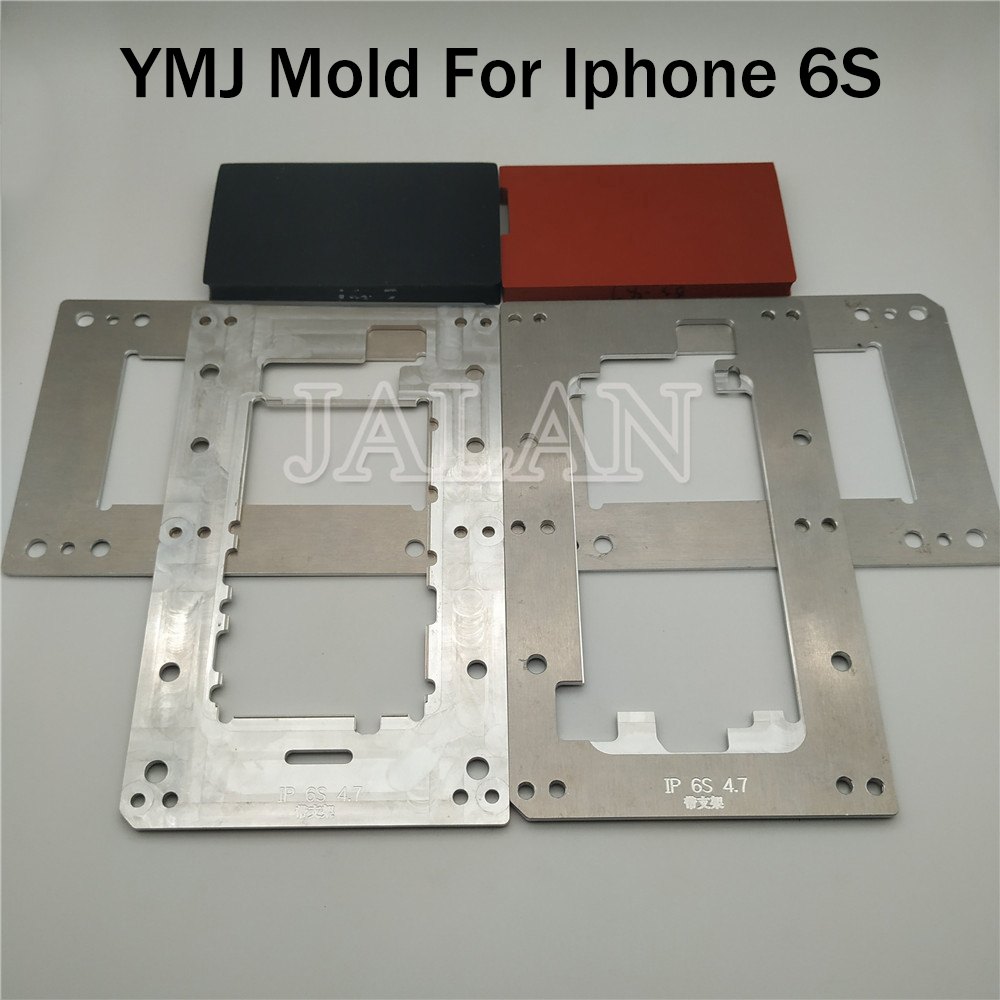 ymj mold for iphone 6S lcd glass perfect positioning oca laminating with base mold use laminating mold