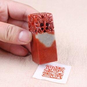 Image 3 - סיני חותם חותמת שם חותמת חותם לוגו/תמונה חותם חתימת חותמת DIY Scrapbook קישוט