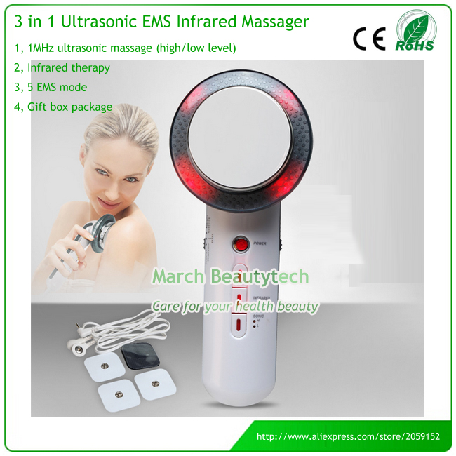 3 in 1 Weight Loss Ultrasonic Body Slimming Sculpting Beauty Massage Machine With EMS And Photon Tender Functions electric beauty body slimming and lipoid fat massaging massager is powerful vibratory body and slimming machine