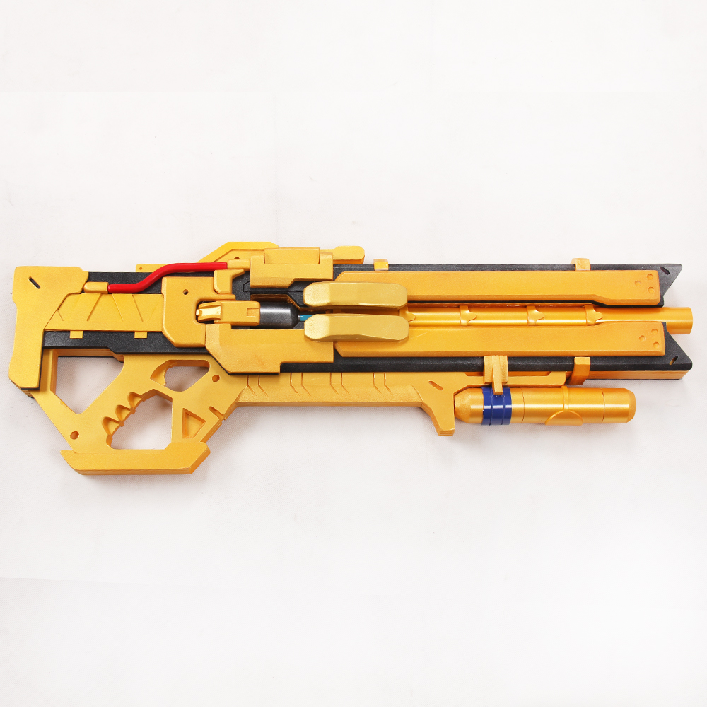 Soldier 76 Golden version Cosplay Weapon Hellfire Heavy Shotgun Prop mp003434