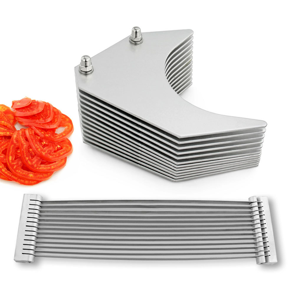 kitchen tools blade assebmly pusher tomato slicer replacement slicing machine multi chopper kitchen accessories vegetable cutter