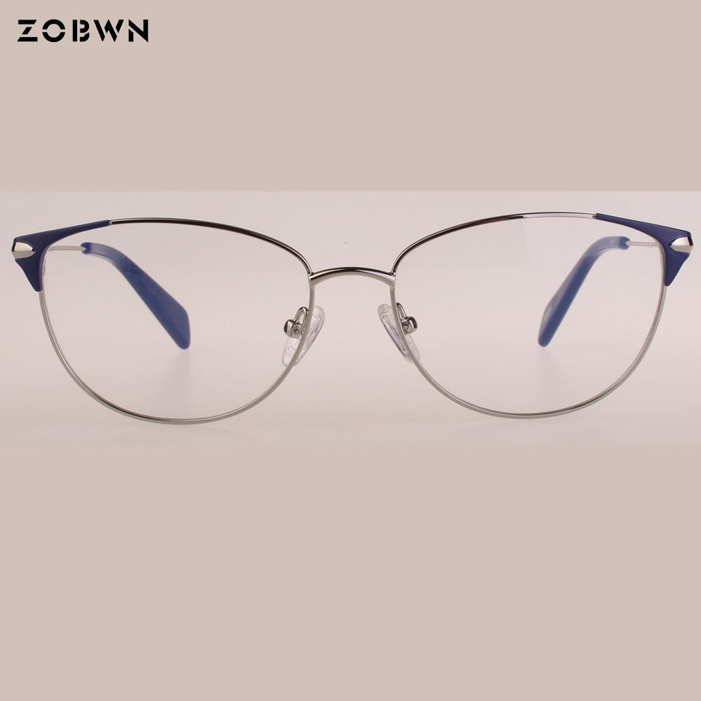 9aacbd493f7cb ZOBWN moldura de quadros manufacture samples sale eyeglasses women gafas  oculos de grau feminino vintage montures ...