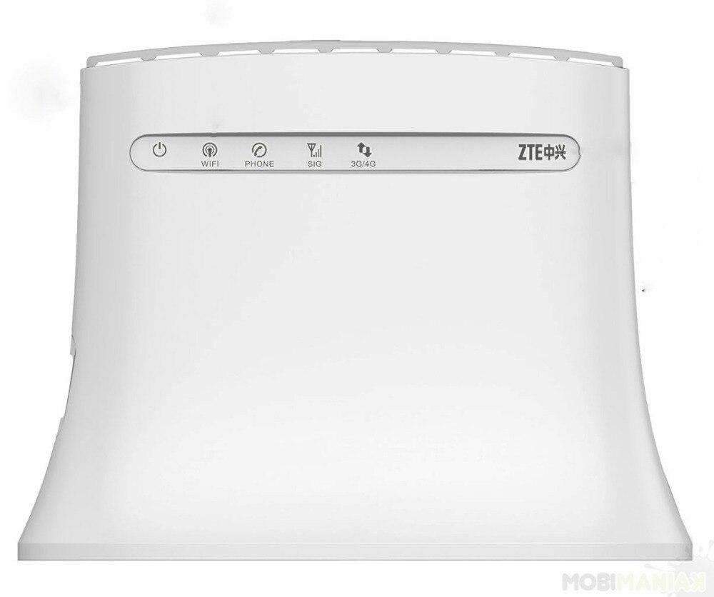 ZTE Router MF283+ 800/1800/2600MHz 4G 2G 3G LTE 150Mbps +2pcs SMA ANTENNA 2pcs lot sdin5d2 2g