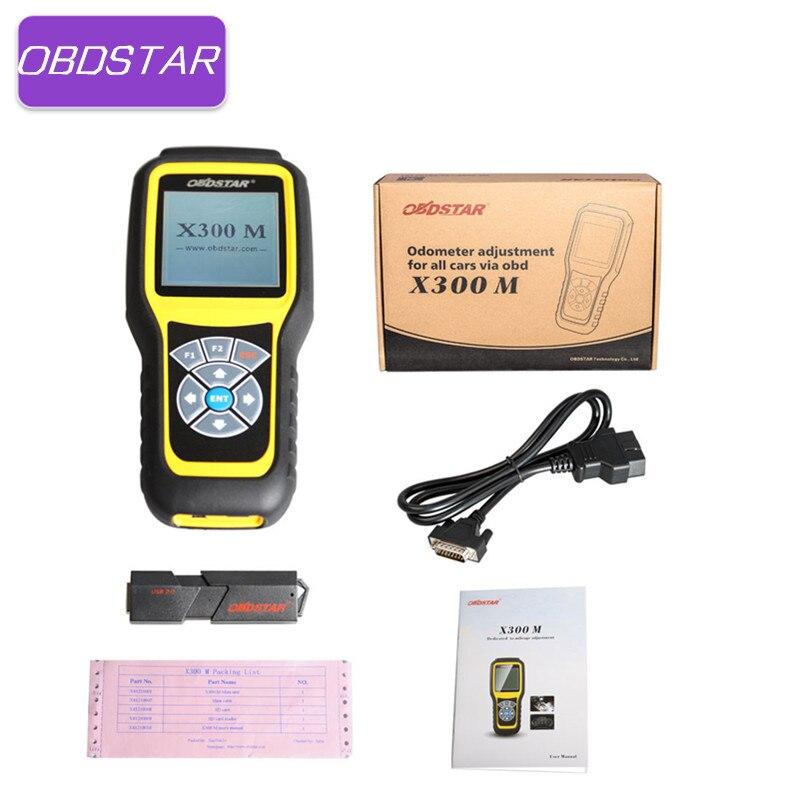 OBDSTAR X300M Correction D'odomètre Outil X300 M Kilométrage Ajuster De Diagnostic Scanner Mise À Jour Via Le site officiel