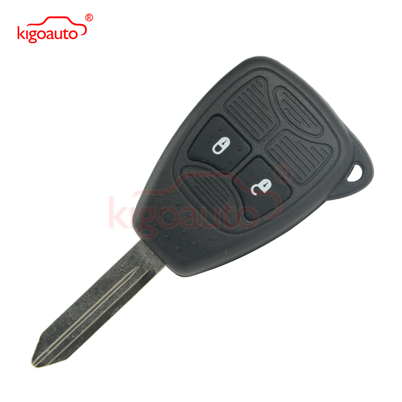 Kigoauto remote head key 2 button 434Mhz 04589318AC remote key fob for jeep Chrysler 300C Voyager for Dodge Caliber Nitro key