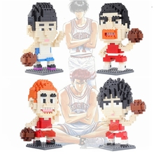 Diamond assembled toy building blocks small particles Yingmuhuadao chuanfeng Sendo Akagi Slam Dunk