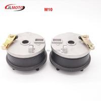 1Pair/2pcs M10*20mm 110mm 4 STUD Brake Drum Wheel Hub Fit For 110CC 150CC 200CC 250CC Buggy ATV UTV Quad Bike Scooter Parts