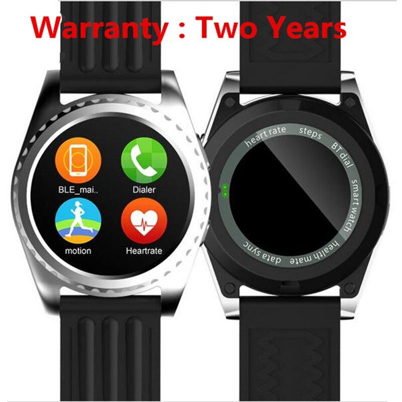 imágenes para No. 1 GS3 Inteligente Monitor de Ritmo Cardíaco Reloj Del Deporte MTK2502 Smartwatch para iphone samsung xiaomi huawei pk dm09 kw18 g3 g4 gear s2
