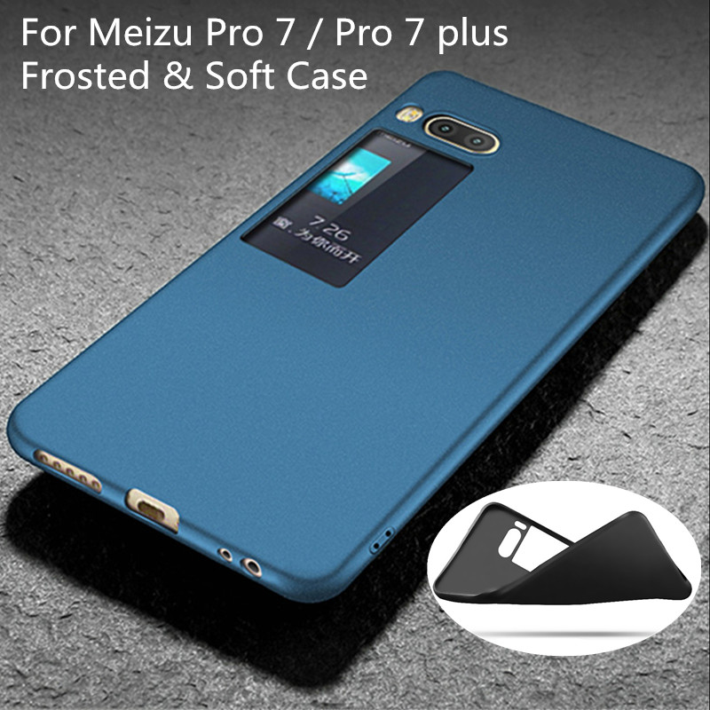 For Meizu Pro 7 Case For Meizu Pro 7 Plus Case Utral Thin soft TPU 360 Full Protection Back Cover For Meizu Pro7 Plus case glass