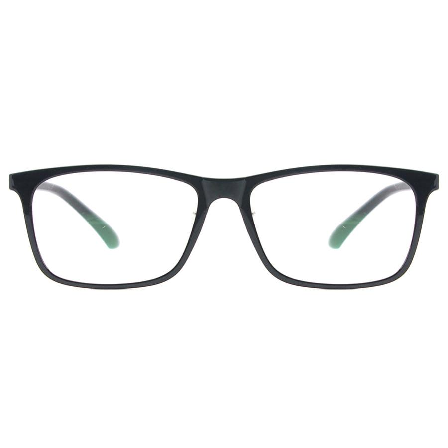 Image 2 - Men Rectangular Flexible Plastic Lightweight TR90 Computer Glasses Women Eyeglasses With Anti Blue Light-in Women's Blue Light Blocking Glasses from Apparel Accessories