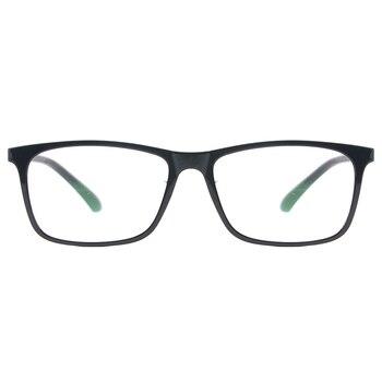 Men Rectangular Flexible Plastic Lightweight TR90 Computer Glasses Women Eyeglasses With Anti Blue Light