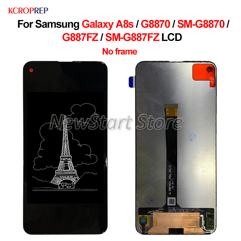 For Samsung Galaxy A8s G8870 G887FZ LCD Display Touch Screen Digitize Assembly 6.4 For Samsung A8s SM-G8870 SM-G887FZ lcdFor Samsung Galaxy A8s G8870 G887FZ LCD Display Touch Screen Digitize Assembly 6.4 For Samsung A8s SM-G8870 SM-G887FZ lcd