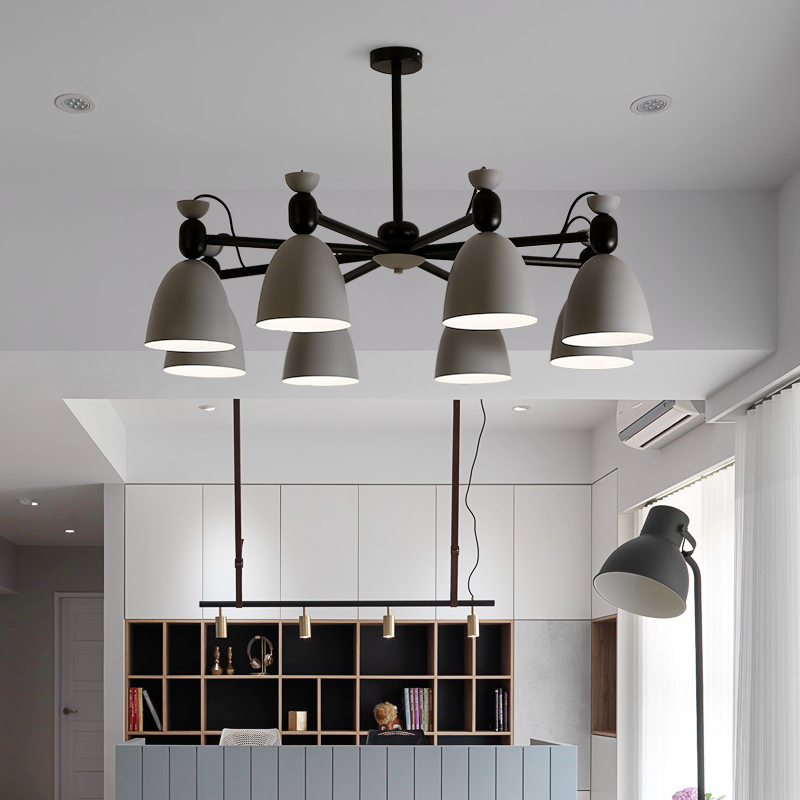 Nordic Pendant Lights E27 Pendant Lamp Light Fixtures Bar Cafe Restaurant for decor Loft Wood Aluminum Lampshade Hanging Lights