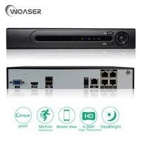 ONVIF FTP Motion Detection Max 4K HI3798M H 265 PoE NVR IEEE802 3af DC48 V CCTV
