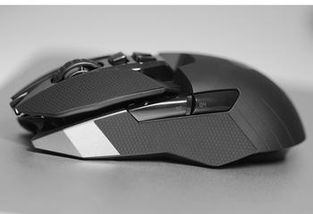 Dla Logitech G903 G900 mysz z taśmą antypoślizgową gumki wyrafinowane uchwyty boczne odporne na pot podkładki pasta antypotowa tanie i dobre opinie RUBBER mksup