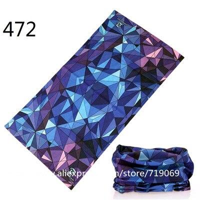 451-480 Mixed Design Bandana Scarf Summer Unisex Face Mask Tube Scarves Seamless Turban Headband Bicycle Hijab Neck Tube