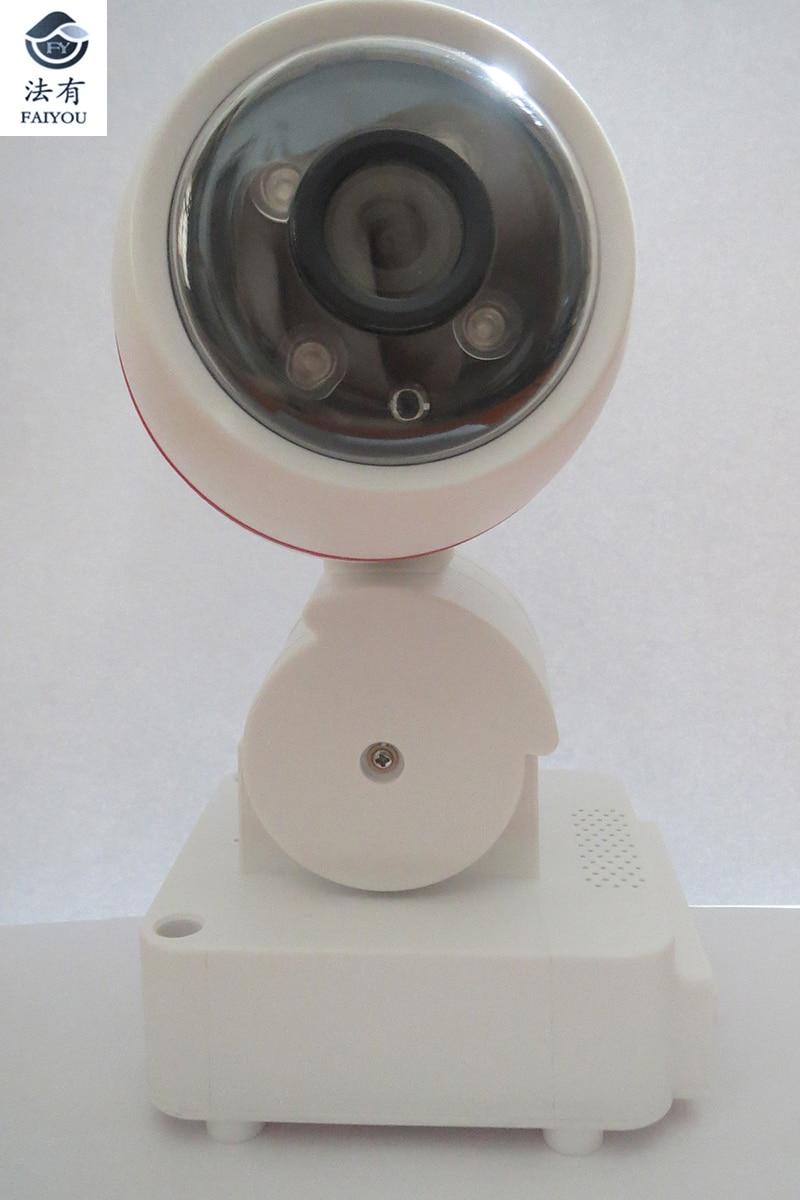 IP Camera wifi With Mircrophone 2MP 1080P 4mm Lens Waterproof Dustproof IR font b Night b
