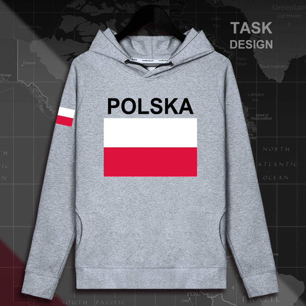 Poland Polish Pole POLAK POLSKA POL mens hoodie pullovers