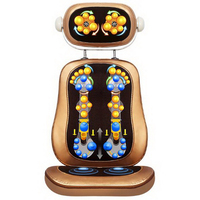 T110101 Household Multi Function Whole Body Massage Cushion 6D Top Rubbing Shiatsu Buttocks High Frequency Vibration