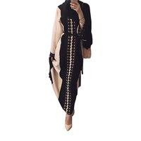 Plus Size 2017 Adult Lace Cotton Liene Robes Cardigan Musulmane Turkish Abaya Muslim Cardigan Robes Arab