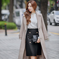 Original 2016 Brand Saia Autumn Winter Plus Size Knee Length High Waist Slim Elegant Casual Midi Wool Skirt Women Wholesale