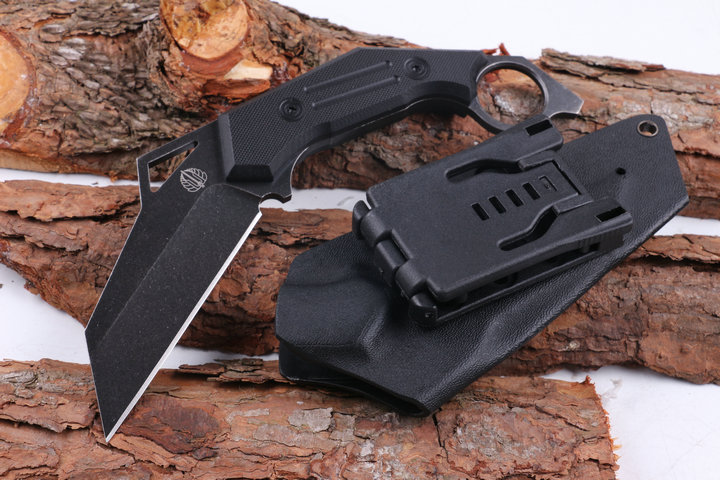 Strider Karambit Hunting Fixed Knives,D2 Blade G10 Handle Camping Survival Knife,Tactical Knife.
