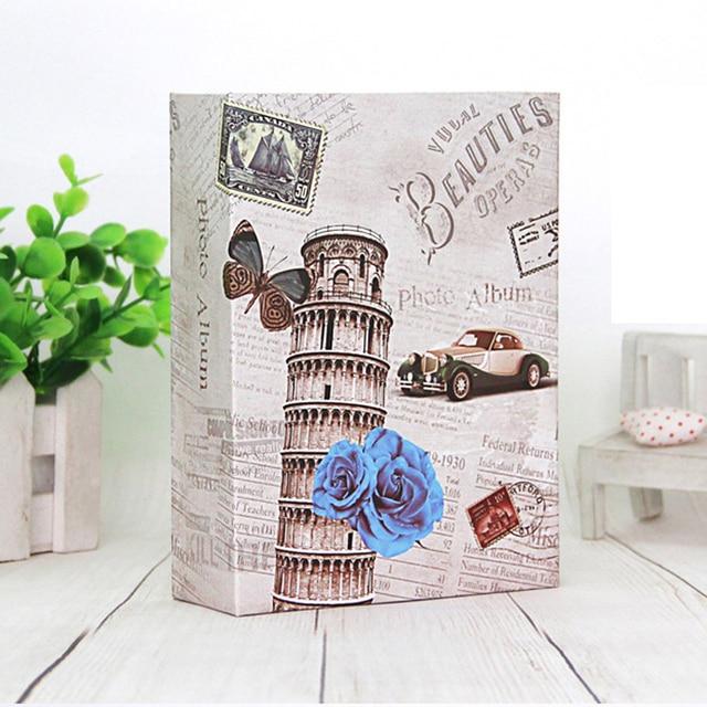 100 ילדים כיסים Foto חתונה תינוק אלבום תמונות Fotos עבור התמונות Scrapbook Instax מיני אלבומים ספר Fotoalbum Photoalbum
