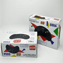 2 X Classic Wired 6 Buttons SEGA Button Game Controller Joypad for SEGA Genesis/MD2 Y1301/ PC /MAC Mega Drive