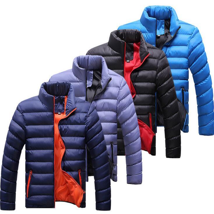 Jesen in zimski suknjiči za jesen in zimo, lahki moški jopiči, - Moška oblačila - Fotografija 4