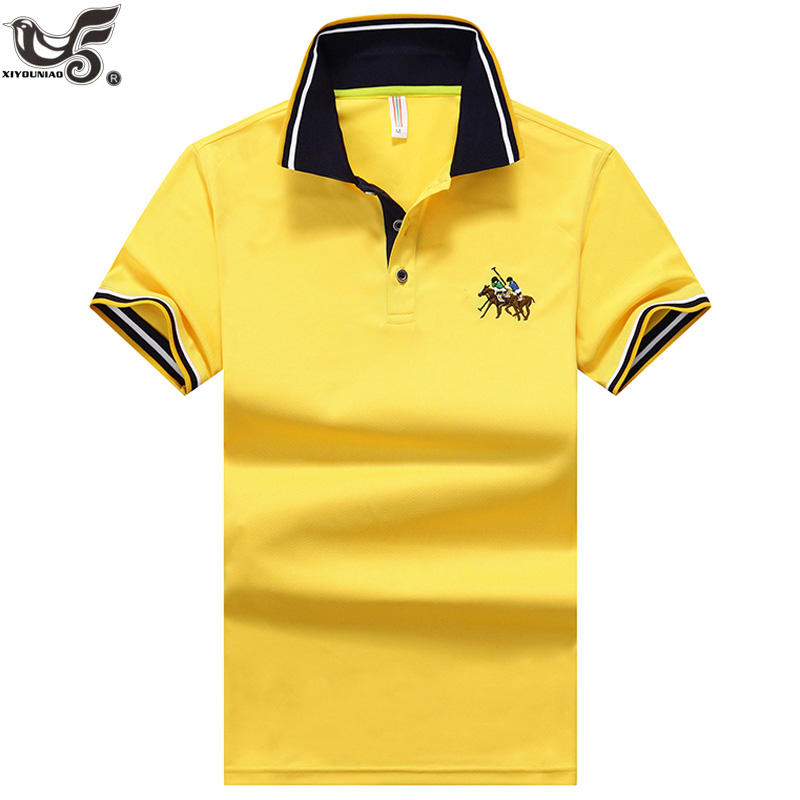 new   Polo   Shirt Men High Quality Men`s Breathable Short Sleeved Summer Shirt Brand Jerseys   Polos   Para Hombre size M~4XL