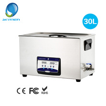 Ultrasound Cleaner Washer 30L Tank Baskets Jewelry Watches Injector Ring Dental PCB 600W 40kHz Digital Ultrasonic Bath