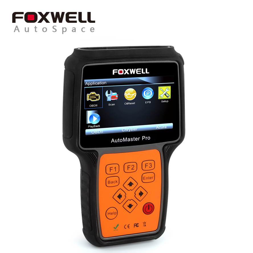 Foxwell NT624 Pro Multi Brand System Transmission ABS Airbag SRS Engine Automotive Diagnosis Universal Car OBD 2 Diagnostic Tool dhl free shipping 100% original autel maxidiag elite md802 all system ds model 4 in 1 engine transmission abs airbag