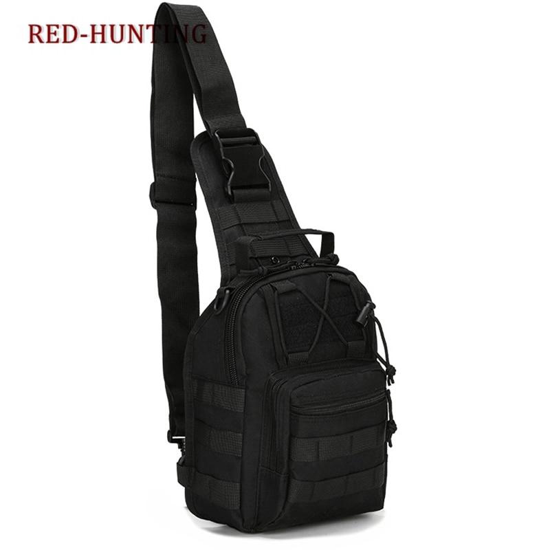 Unisex Adults Nylon Oxford Fabric Multifunctional Chest Shoulder Satchel Bag Tactical Sling Pack Camping Shoulder Pack