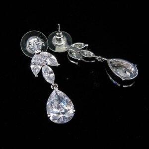 Image 5 - Свадебная Корона из фианита 3A, диадемы и короны из циркония, свадебные аксессуары для волос WIGO1327