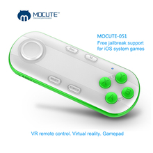 Bluetooth Wireless Android Gamepad Controller VR Game Controller Joystick Selfie Remote Control Shutter For iPhone PC