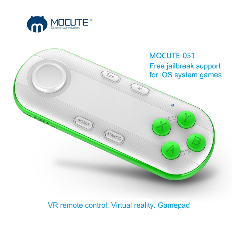 Bluetooth Wireless Android font b Gamepad b font Controller VR Game Controller Joystick Selfie Remote Control