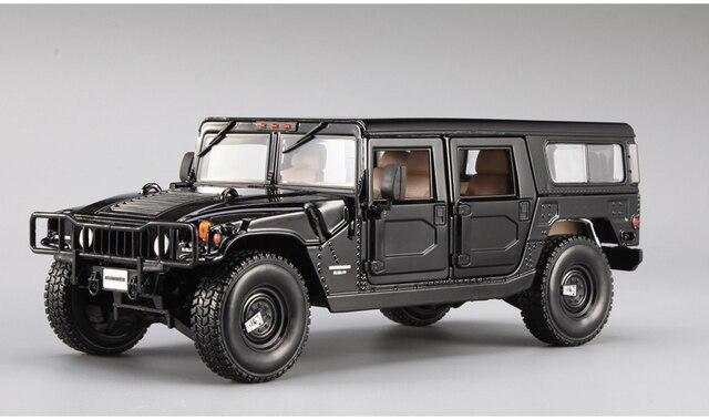 Brand New Maisto 1 18 Scale Car Model Usa Hummer H1 Suv Cast Metal